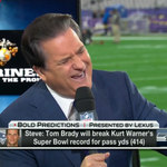Tom Brady will do WHAT?!? Will records fall?? @SuperBowl #BOLDPredictions are IN: http://t.co/0m98BPnnAL #SB49 http://t.co/aVGmQOWFut