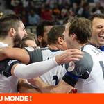 C'est historique ! L'équipe de France s'impose 25-22 face au Qatar et décroche un 5e titre planétaire ! #QATFRA http://t.co/NJYstMoY5B