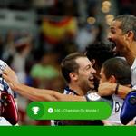 Et cest le 5ème succès pour léquipe de France de #Handball ! GG les bleus ! #FRAQAT http://t.co/cXUsSv5OsY