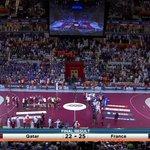 Une cinquième étoile sur le maillot de l@EDFHandball qui bat ce soir le #Qatar #TF1 @TF1 http://t.co/qdAfSEMnuJ