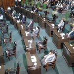 Ausencia de diputados en el @MorelosCongreso faltaron 12 diputados de 30 (por andar en campaña) foto: Rafa Bahena http://t.co/a6cxS9s9jl
