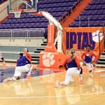 #IPTAY Weekend At Clemson Basketball continues today with @ClemsonWBB taking on Virginia at 2pm. Go Tigers! #BeatUVA http://t.co/73wW6GKPDk