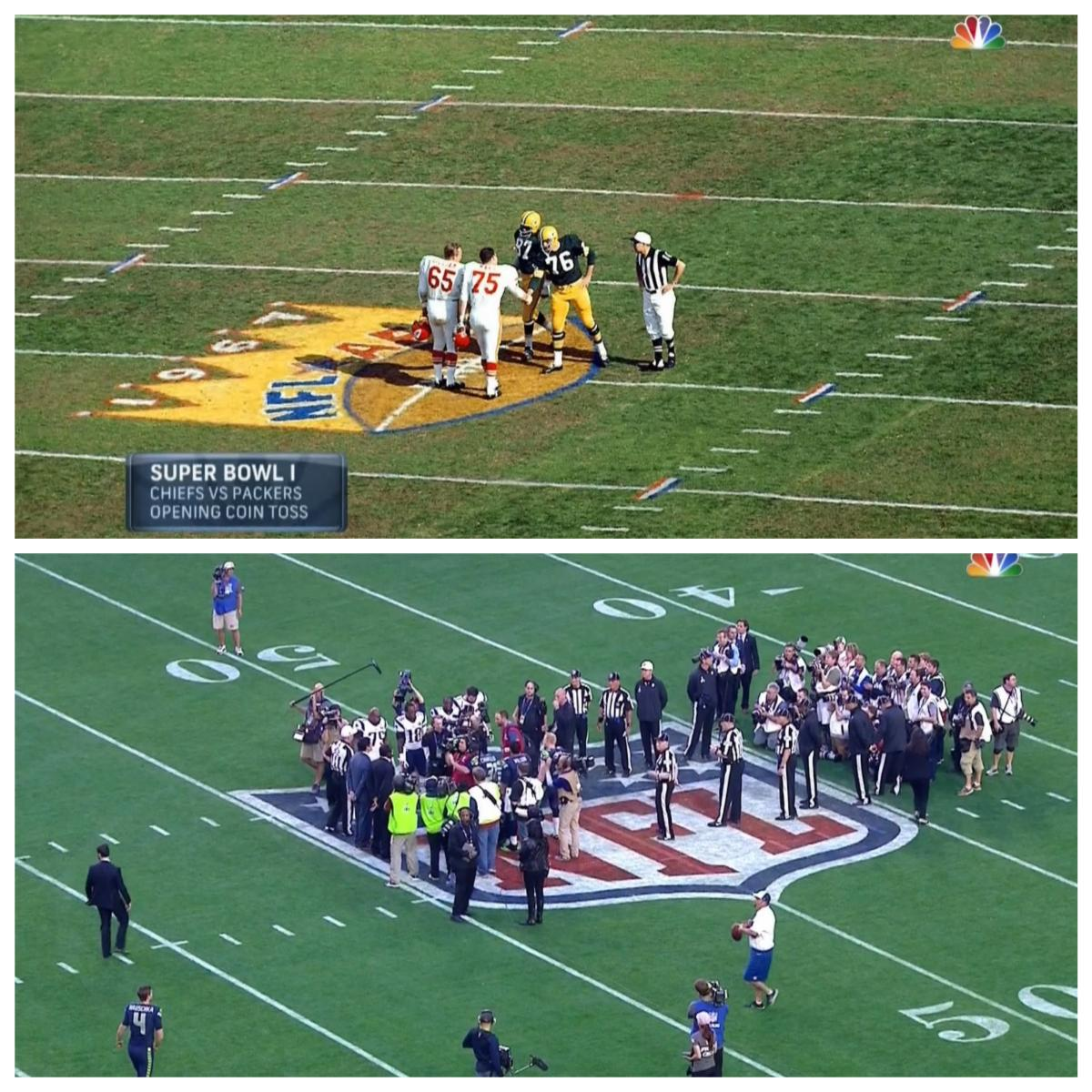 Then and Now. #SB49 http://t.co/IkAluVaMYM