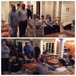 Super Bowl party. Large group for Seattle. Small group for New England. And @THEwillieCS15 is for Seattle. http://t.co/8Cfs5Nxsey