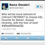 1st he organised a poll Buhari beat Jonathan. And now this? Is this guy a secret Buharist ? LOL. http://t.co/VR3ePXbNnD