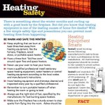 #Mississauga Fire Fighters remind you to use heating equipment safely #BeSafe http://t.co/wOd5EWVpEv