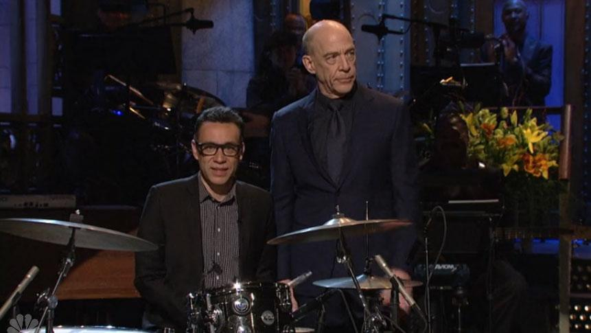 Watch: J.K. Simmons channels his Whiplash character on