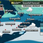 Snowfall forecast for southern Ontario INCREASED once again. For details here: http://t.co/RR9nxei6XQ #onstorm http://t.co/rxOSJOBhRl