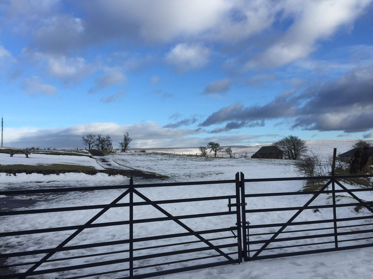Snowy day #BlackMountain @diviscoffeebarn @angie_weather @WeatherCee @barrabest @NationalTrustNI open air exercise http://t.co/xu1WNGOeQe