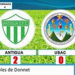 DEPORTES: Panza Verdes de @AntiguaOficial vencen a Universitarios de @vivoelazul en el Estadio Pensativo. DETALLES -► http://t.co/KK8q5etczK