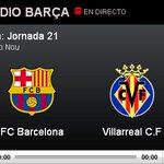 Todo a punto en el Camp Nou. ¡Sigue el partido en directo a través de Radio Barça! http://t.co/9rnydFvA9M #FCBlive http://t.co/YWRahgB639