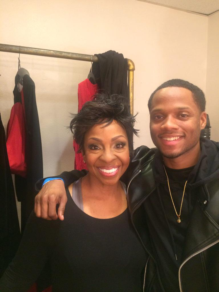 Great to see aunt @MsGladysKnight. It's been awhile. http://t.co/2gIH0P3FqO