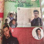 Nash look a Greek magazine has an article about you and Cam ???????? @Nashgrier @camerondallas http://t.co/83IleydRwh