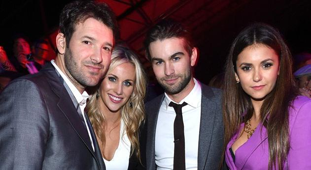 Happy Super Bowl Sunday! Look who we spotted at a pre-game bash! See more party pics