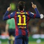 Neymar (2013/14): 41 juegos 15 goles 11 asistencias Neymar (2014/15): 26 juegos 22 goles 4 asistencias http://t.co/MRTAIMWwuP