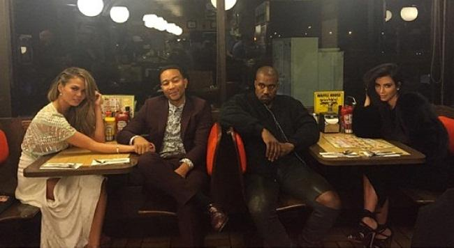 *Drum roll* ...and the award for fanciest Waffle House customers goes to...