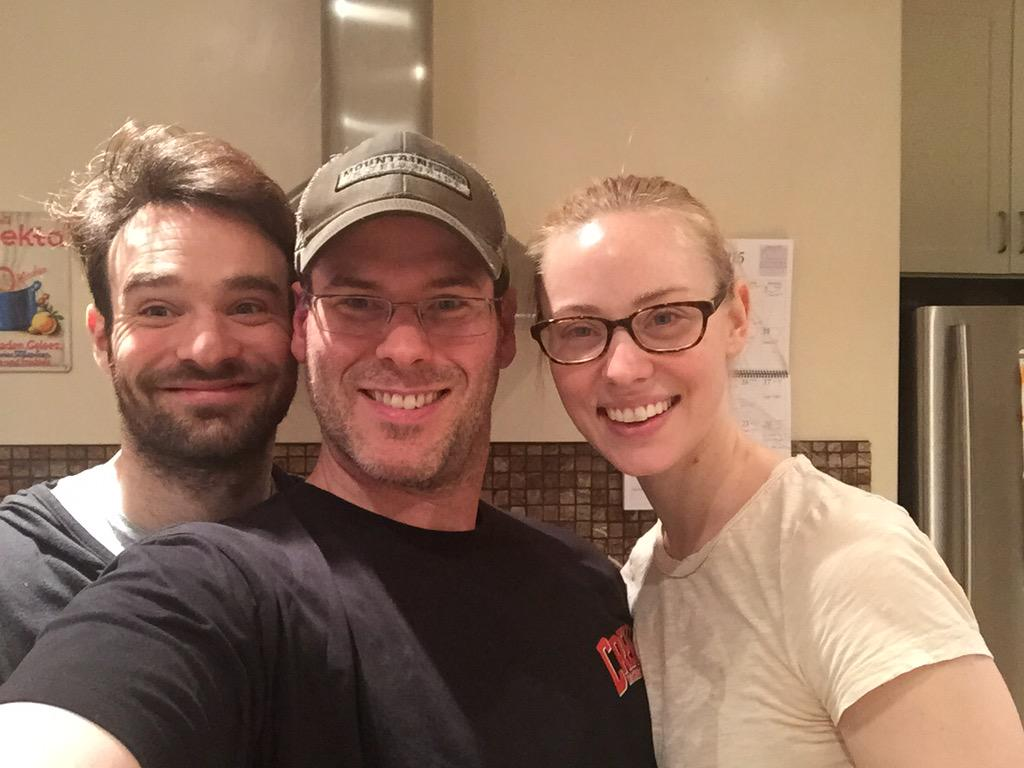 Listen to @EJPodcast w/ #CharlieCox from @Daredevil w/ guest @DeborahAnnWoll ! #Daredevil RT http://t.co/FEfZMBoSsw http://t.co/qVJ7OIbL79