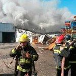 Incendio afecta a frigorífico en Rancagua (foto: EDFIRE5) http://t.co/dEs2Gs8rFw http://t.co/3XcDd34FsN