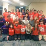 exSRoaWrdinary. Clemson Orientation is ready for #SROW! #WeSROWHard #DontBelieveUsJustWatch ???????? http://t.co/me7AgqmVNa