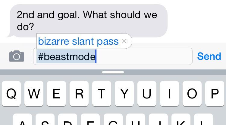 Damn you, autocorrect. Pete Carroll's phone http://t.co/dorohNfXo1