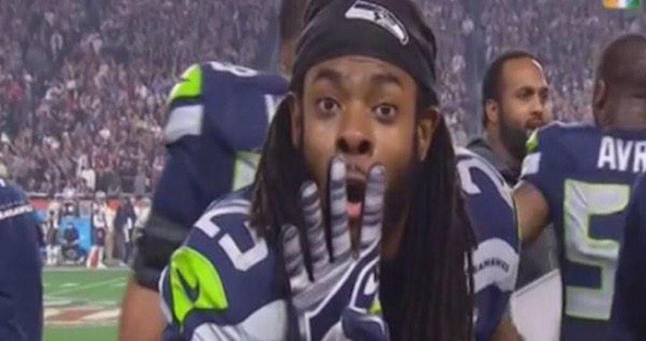Hey @RSherman_25 how many rings does Tom Brady have? http://t.co/cYZGCAeq1W
