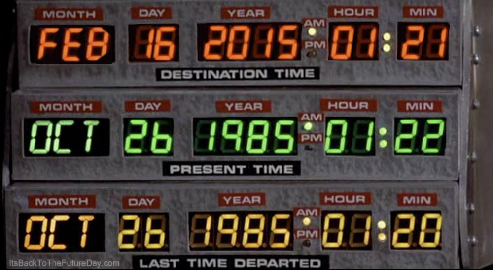 Today is the day they thought was the future in 'Back To The Future'.  http://t.co/TpXw8XpGom