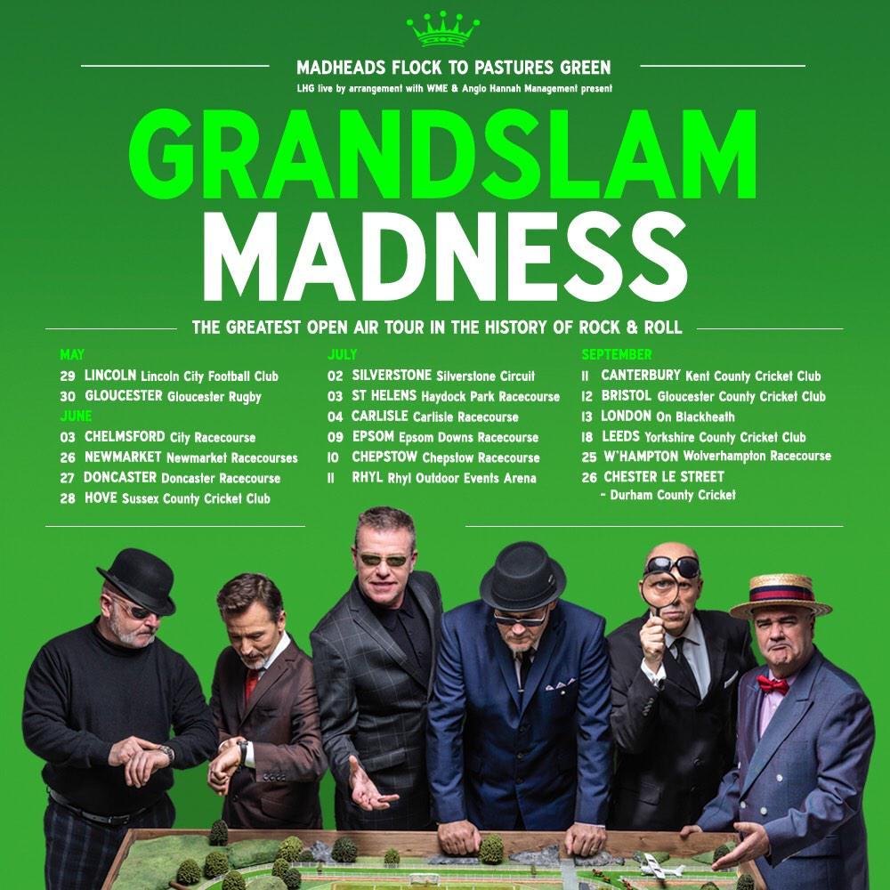 #GrandslamMadness!! Pre-sale tickets go on sale this Tuesday at 9am, access them here: http://t.co/ibpC7RNo92 http://t.co/wvn7zLBhzY