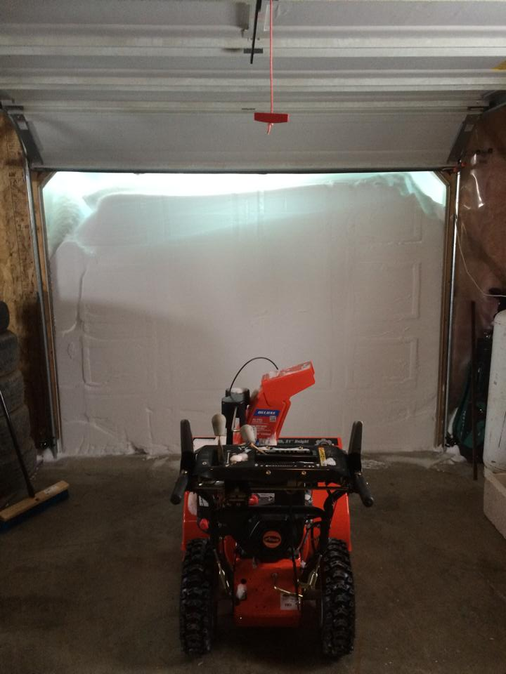 "Dustin Dionne from Saint Paul shared this pic and asked: ""Think I might need a bigger blower."" #nb http://t.co/IKLk84aFqx"