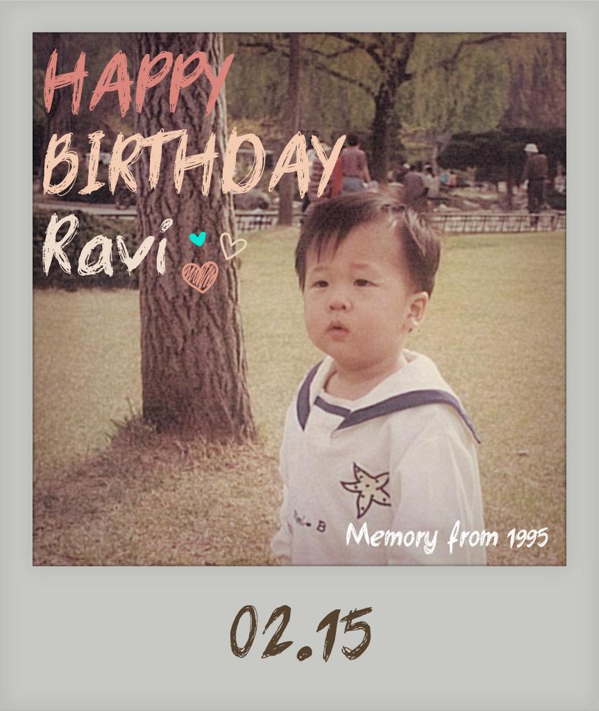 RealVIXX (@RealVIXX): 나는 로빅이다. #라비 요원의 1995년 추억이 담긴 귀여운 사진을 공개한다. 150215 #라비 요원의 스물세번째 생일을 진심으로 축하한다. #HAPPYRAVIDAY http://t.co/8TkKOUe4ZC