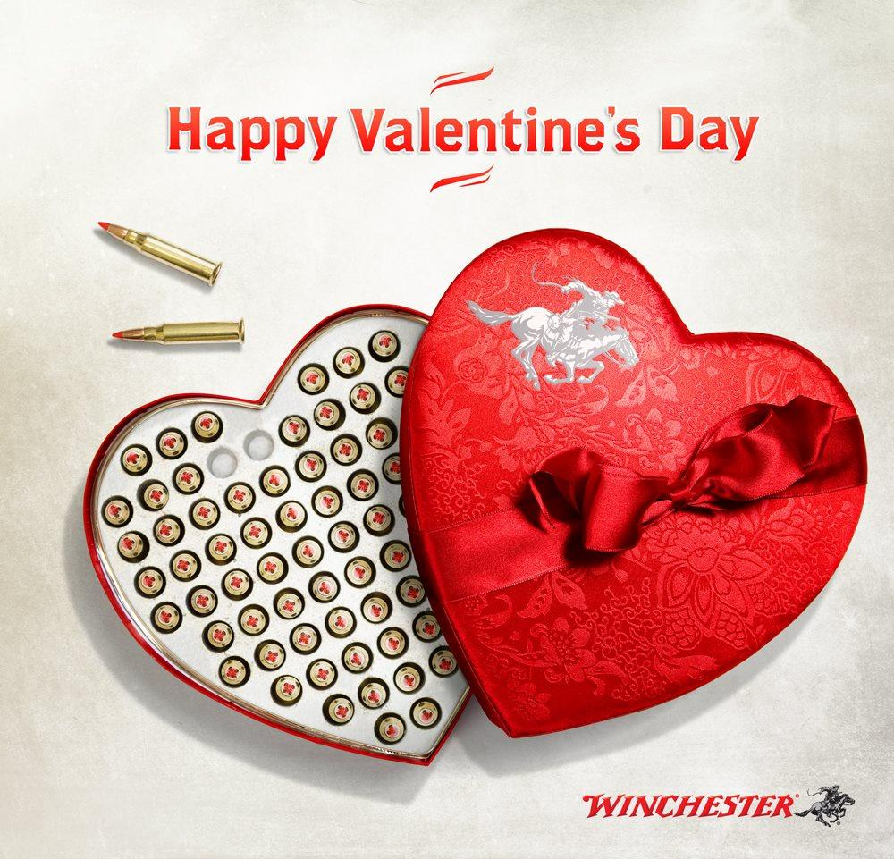 "Nothing says ""I Love You"" like a heart-shaped box filled with Winchester ammo. #winchester #shooting #valentinesday http://t.co/6Yzdny7TZ2"