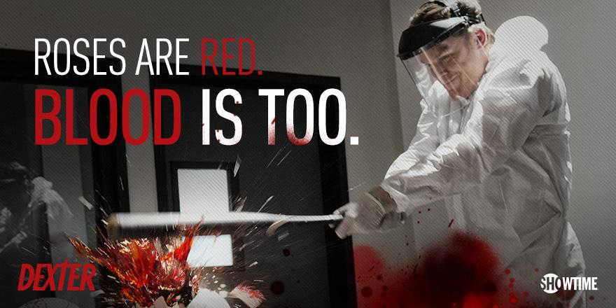 #Dexter's bloody Valentine to you. #HappyVDay http://t.co/Gb5juoK7gF