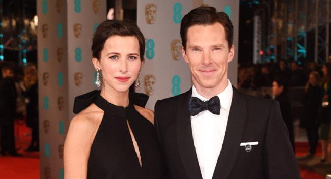 Happy Valentine's Day to Benedict Cumberbatch & Sophie Hunter who just GOT MARRIED!