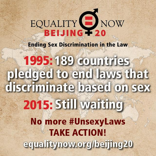 We rise for a world where the law treats EVERYONE equally. No more #UnsexyLaws. #Rise4Revolution http://t.co/LmqXXZiMPH