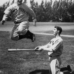 RT @MeredithFrost: I love everything about this. RT @BeschlossDC: Gehrig & DiMaggio in @Yankees spring training: #NBHF http://t.co/go3SsNA7…