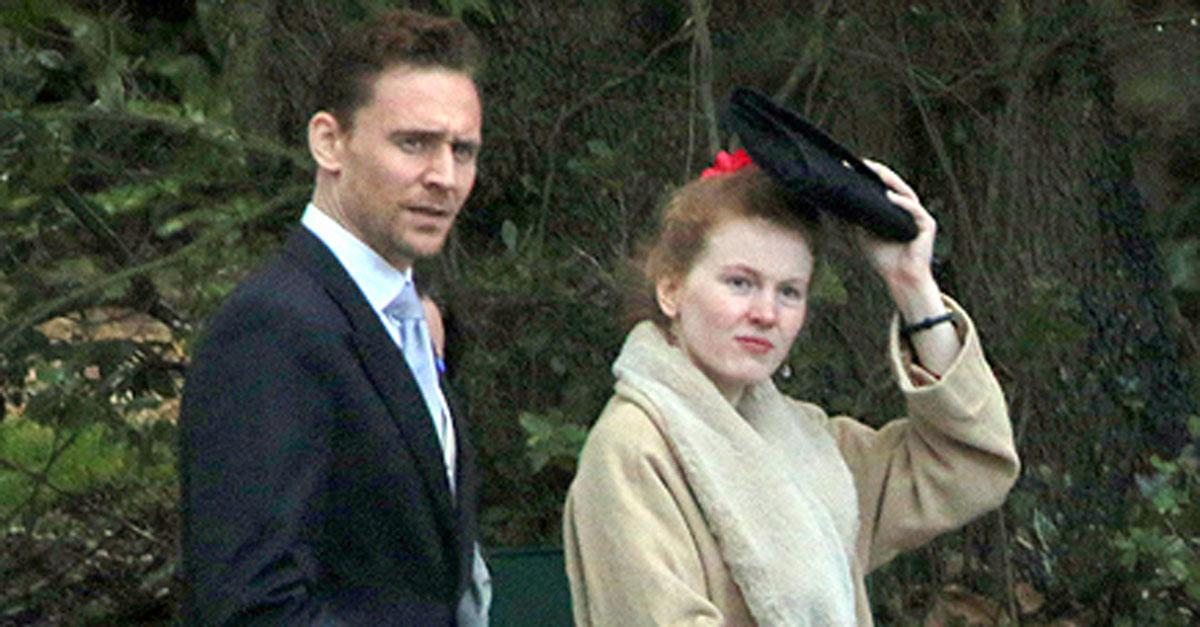Tom Hiddleston spotted at Benedict Cumberbatch's wedding. Get all the details: