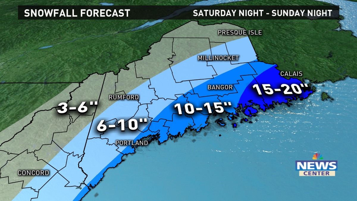 Lowering snowfall totals for this one.  Still a nasty storm though. I'll explain the change at 6pm! @WCSH6 @WLBZ2 http://t.co/iNRCnWHahx