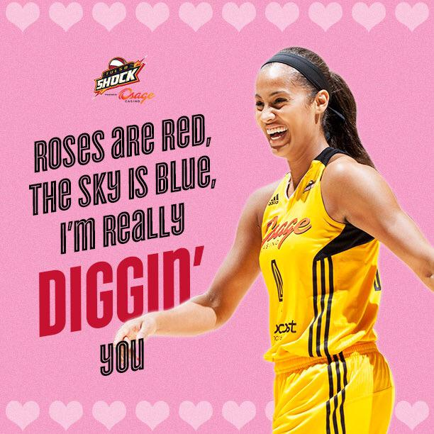 Let @SkyDigg4 and the @TulsaShock help you say #HappyValentinesDay! http://t.co/UQIbBh2GV2