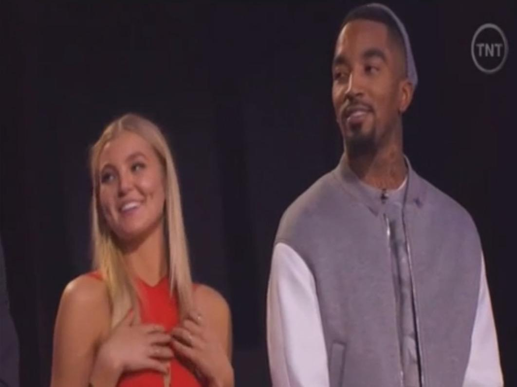 Video J R Smith Hits On A Model At The Nba All Star All Style Fashion Show I Like Her