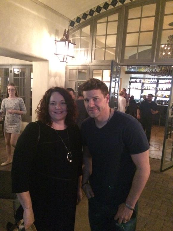 "DuGue with David Boreanaz from the hut Fox show ""Bones"" here at the Scottsdale Princess resort! http://t.co/18HYCUFajE"
