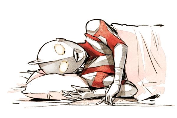 """Photo: tuya28: 長月みそか on Twitter: """"子供の頃、ウルトラマンって寝ててうっかりスペシウム光線だしちゃったりしないんだろうかと心配してた。 http://t.co/kw6uRE8keX"""" http://t.co/VZz57AiBns"""