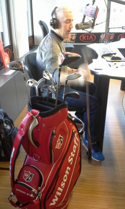 This is Paul Tomasulo and the very cool new bag for 2015 and the new clubs http://t.co/rt8r92O8JH