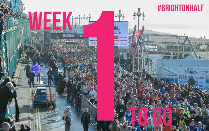 This time next week and the streets of Brighton will be a little busy! #7DaysToGo #brightonhalf http://t.co/4vDsndq0fX