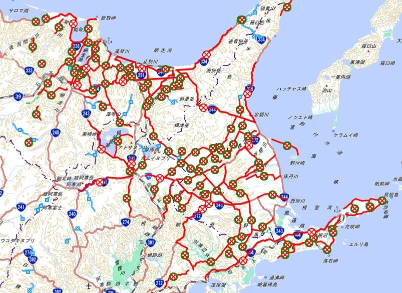 道東、再び陸の孤島化が進む http://t.co/0iq7JRmTsu