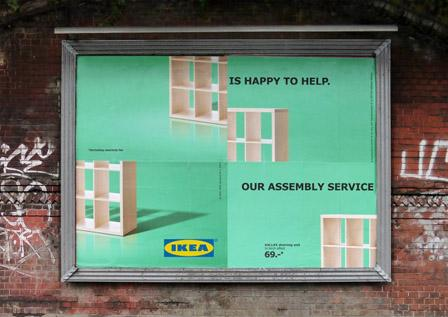 Ikea Admits Itu0027s Furniture Is (almost) Impossible To Assemble With This  #FLAWSOME Billboard