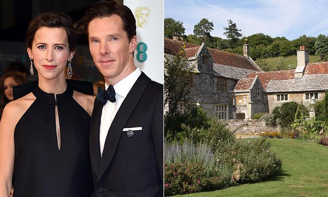 Benedict Cumberbatch and Sophie Hunter tied the knot on the Isle of Wight...