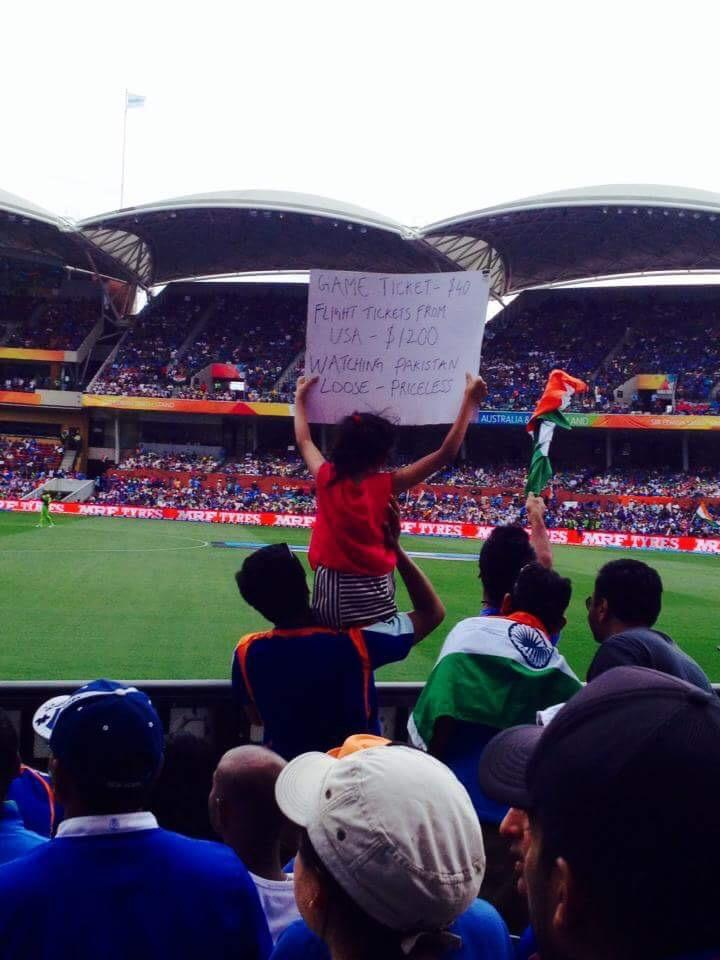 """Early education! """"@CricketGandu: This Indian kid has been brought up the right way! #INDvPAK #cwc15 http://t.co/TMeSMt3sZr"""""""