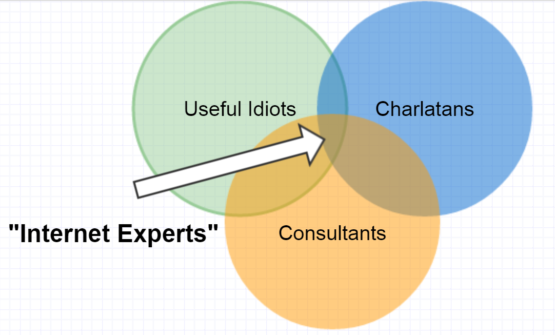 "My critique of ""Internet experts"" for those who can't bother to read 5000-word essays http://t.co/0HVu7TFf10"