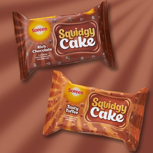 Our new Squidgy Cake is here in Gooey Toffee & Rich Chocolate flavours! RT for a chance to #WIN some! http://t.co/1P3k1Tbz0F