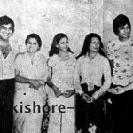Nostalgia is pain! At the muhurat of Amar Akbar Anthony with Manmohan Desai the cast and Dharamji who gave the clap