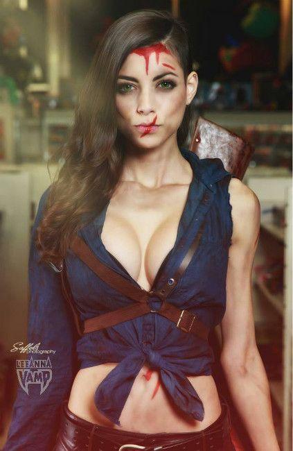 Ash (Evil Dead) par LeeAnna #cosplay http://t.co/0uejcAhQO6